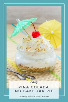 Cakes Puddings Trifles Cobblers etc. Note: Pies Cupcakes Cookies Bars & Candy posted on separate boards Tropical Desserts, Bbq Desserts, No Bake Desserts, Delicious Desserts, Dessert Recipes, Yummy Food, Jar Recipes, Tropical Party, Family Recipes