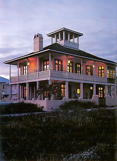 Rosemary Beach House 01  by Spitzmiller & Norris, Inc.