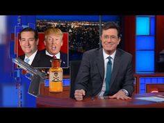 Would You Rather: GOP Edition Outstanding skit by Colbert on Trump, Cruz and their relationships with the GOP in reality!!