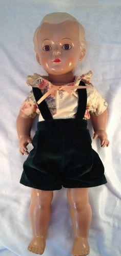 Schildkröt Nostalgie Tortulon Puppe Hans blond Repro limitiert 46 cm | eBay