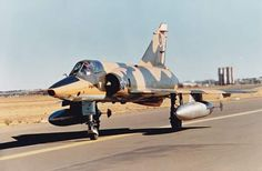 2 Squadron Mirage III 855 taxying out for a low level tactical reconnaissance mission. This aircraft was later converted into a Cheetah R. Military Jets, Military Aircraft, South African Air Force, Battle Rifle, Air Show, War Machine, North Africa, Military History, Armed Forces