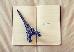 Eiffel Tower in Paris, France Tour Eiffel, Paris Eiffel Tower, Eiffel Towers, Torre Effiel, Eiffel Tower Photography, Paris Photography, Paris Quotes, Word Girl, Paris Wallpaper