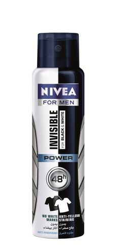 Nivea Deodorant Invisible For Black & White