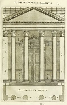 Oeuvres d'architecture de Vincenzo Scamozzi Architecture Antique, Classical Architecture, Historical Architecture, Architecture Design, Google Images, Interior And Exterior, Louvre, Architectural Drawings, The Originals