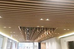 Aluminum Square Tube Ceiling is a popular ceiling material in recent years. Its neat lines, simple installation and well-defined decoration style have become one of the main products of ceiling materials in recent years. Baffle Ceiling, Metal Ceiling, Ceiling Materials, Air Conditioning System, Building Exterior, Can Design, Big Project, Visual Effects, Bending