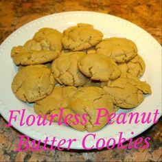 Champagneista: Flourless Peanut Butter Cookies