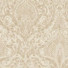 Julian McDonald Burlesque Cream & Gold Wallpaper