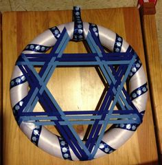 Hanukkah decorations play a substantial role in the celebration of the festival. You are in a position to buy Hanukkah lights in that the kind of a menorah or a dreidel or maybe you opt to go for conventional bulbs. Hanukkah Lights, Hanukkah Crafts, Jewish Crafts, Feliz Hanukkah, Hanukkah Decorations, Christmas Hanukkah, Happy Hanukkah, Hannukah, Holiday Crafts