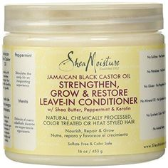 Recommended Products For Natural Hair Care