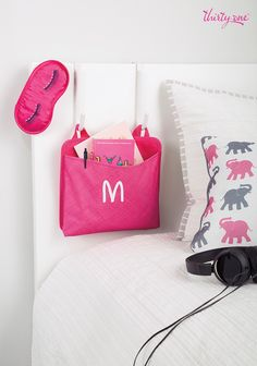 Thirty-one Oh Snap Pocket Thirty One Uses, Thirty One Fall, Thirty One Gifts, 31 Organization, Bedroom Organization, Thirty One Business, Thirty One Consultant, 31 Gifts, 31 Bags