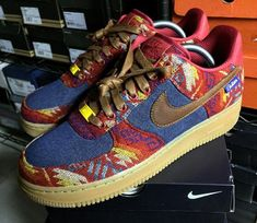 Nike Air Force 1 Low ID Pendleton cálido y seco - @regularolty