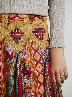 Free People Rises in the East Skirt at Free People Clothing Boutique