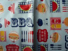 Assorted-Sizes-Vinyl-Flannel-Back-Tablecloths-BBQ-Grill-SUMMER-FUN-multi-color