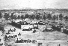 Fort Bridger, on the Oregon Trail