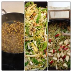 Kål & kikærter - en vegetarisk curry
