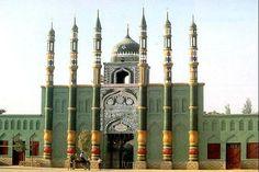 Qazihan Mosque built in 1747. Turpan, Xinjiang, China, Silk Road. #silkroad http://pic.twitter.com/CB8k3gZ35X