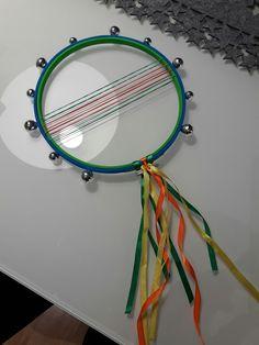 Tambourine diy (kindergarten project)