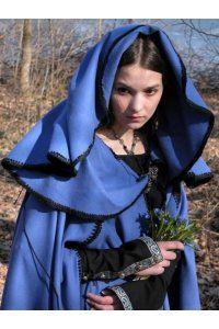 Cloaks Pagan Wicca Witch:  Beautiful medieval #cloak.