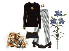 """Madame Tigress"" by winscotthk ❤ liked on Polyvore featuring Marc by Marc Jacobs, rag & bone, Nicholas Kirkwood, Kenzo, Anndra Neen, Dolce&Gabbana and Michael Valitutti"