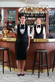 Male & Female Champagne Bar