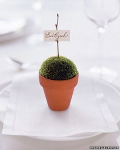 """See the """"Potted Place Card"""" in our  gallery"""