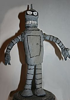 Bender Figure of DAS and acrilic color