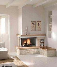 Home Layout Design, Home Room Design, Living Room Designs, Living Room Decor, House Design, Interior Design, Fireplace Built Ins, Home Fireplace, Fireplace Mantels