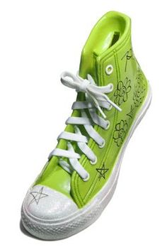 Three Cheers 4 Girls Sneaker Money Bank, Lime « Impulse Clothes