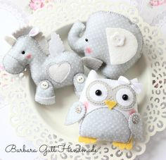 Barbara Handmade...: felt animals