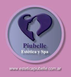 Logotipo Piubelle Estética y Spa (Centro de Estética y Spa) www.esteticapiubelle.com.ar  Av. Corrientes 3846 - Almagro Capital Federal - Buenos Aires - Argentina
