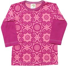 "Kiwi Industries ""Rosy Flora with Raspberry Trim"" 2-Fer"