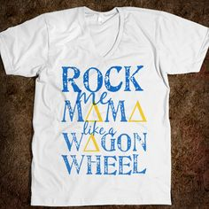 tridelta wagon wheel not gonna lie this is cutee