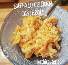 Healthy Buffalo Chicken Casserole | 21 Day Fix