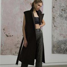 @beaufillefashion FW15 Klein Vest