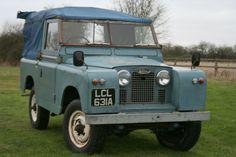 "// Land Rover Series 2 88"" Diesel Soft Top"