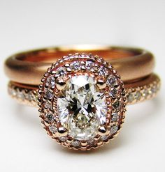 Vintage Engagement Rings Rosegold engagement