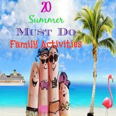 20 Summer MUST DO Family Activities! #20 #summer #mustdo #family #activities #fun #memories (scheduled via http://www.tailwindapp.com?utm_source=pinterest&utm_medium=twpin&utm_content=post61350020&utm_campaign=scheduler_attribution)
