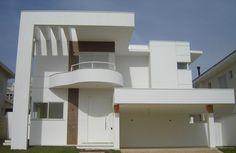 40 Fachadas de casas modernas e esculturais maravilhosas! - Decor Salteado - Blog de Decoração e Arquitetura