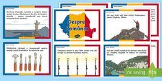 Despre România Cartonașe informative Primary Resources, Teaching Resources, Interactive Activities, Preschool Activities, 1 Decembrie, Eyfs, Google Drive, Lesson Plans, Romania
