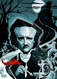 Edgar Allan Poe by juarezricci.deviantart.com on @deviantART