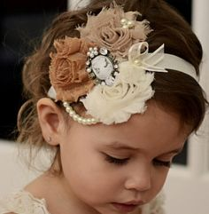 Vintage hair band... so cute!