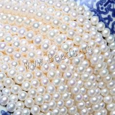 #Milky Way Jewelry - #Milky Way Jewelry Potato Cultured Freshwater Pearl Beads - AdoreWe.com