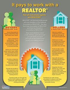 Sellers & buyers - you'll want to read this and find out why working with a Realtor is the best decision for your real estate needs! List/buy with me today!