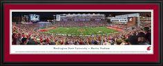 WSU Cougars Panoramic Picture - Martin Stadium