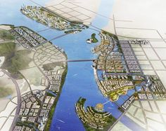 Project: Urban development planning and urban design for Huangpu district and Changzhou island - ISA Internationales Stadtbauatelier