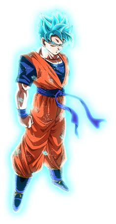 Super Saiyan Blue End Goku (Recolor) by BrusselTheSaiyan on DeviantArt Gohan Super Saiyan Blue, Trunks Super Saiyan, Dragon Ball Z, Mirai Gohan, Kid Goku, Dragon Images, Deviantart, Digimon, Sasuke