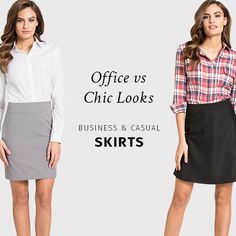 Discover new trends at Sumissura! Business Casual Skirt, Business Skirts, Capsule Outfits, Capsule Wardrobe, Suits For Women, Women Wear, Professional Outfits, Casual Skirts, Classic Outfits