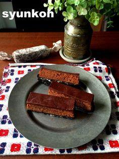 電子レンジでできる! おすすめです!!オーブン不要!3層生チョコケーキ