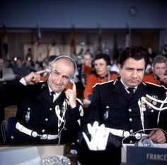 Le Gendarme à New-York - Louis de Funès, Michel Galabru