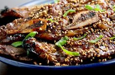 kalbiweb/Korean BBQ ribs!  Ono!